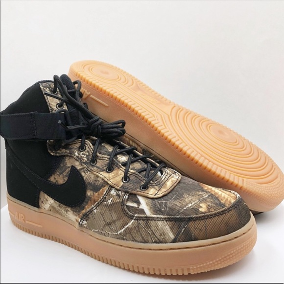New Nike Air Force 1 High '07 LV8 3 Realtree®Camo NWT